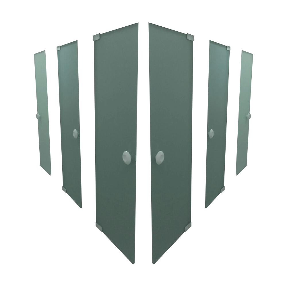 Porta de Vidro Temperado -  Janelas E Portas em Alumínio E Vidro Em Curitiba
