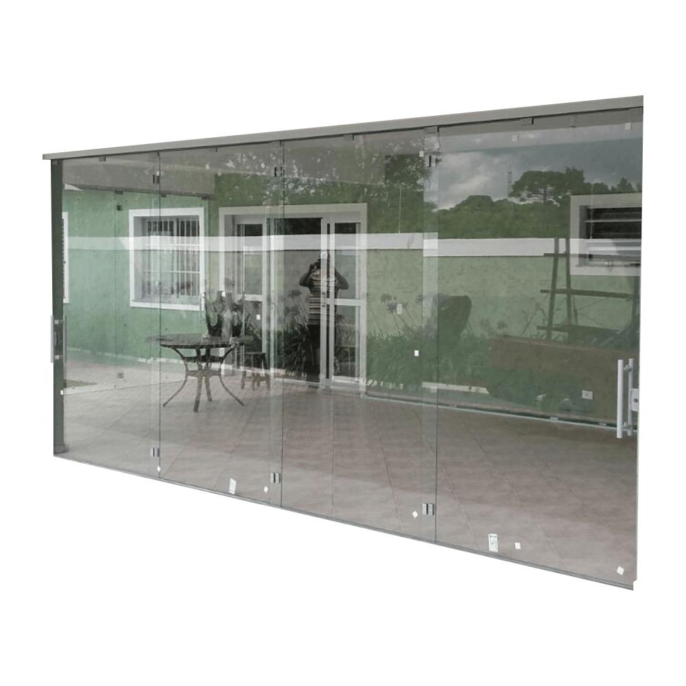 Porta em Vidro Temperado -  Janelas Acústicas Antirruído Em Curitiba
