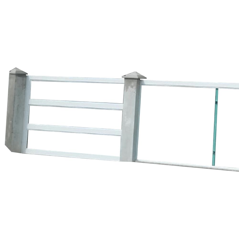 Portão em Alumínio com Vidro Temperado -  Vidraçaria Em Curitiba